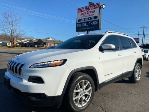 2017 Jeep Cherokee for sale at Unlimited Auto Group in West Chester OH