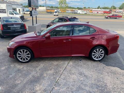 2007 Lexus IS 250 for sale at A & R Motors in Richmond VA