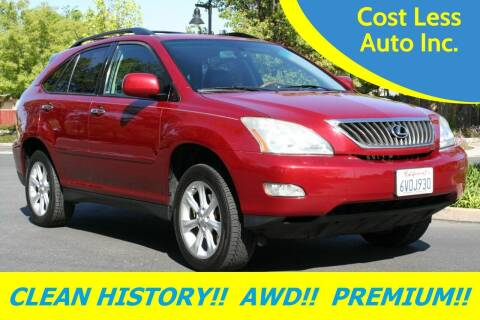 2009 Lexus RX 350 for sale at Cost Less Auto Inc. in Rocklin CA
