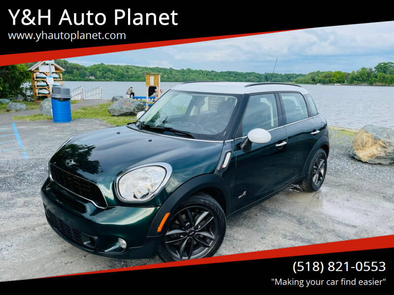 2011 MINI Cooper Countryman for sale at Y&H Auto Planet in West Sand Lake NY