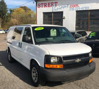 2010 Chevrolet Express Cargo for sale at Street Visions in Telford PA
