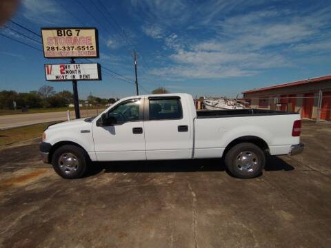 2008 Ford F-150 for sale at BIG 7 USED CARS INC in League City TX