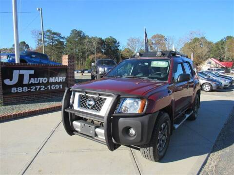 2015 Nissan Xterra for sale at J T Auto Group in Sanford NC