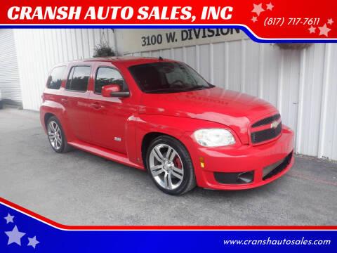 2008 Chevrolet HHR for sale at CRANSH AUTO SALES, INC in Arlington TX