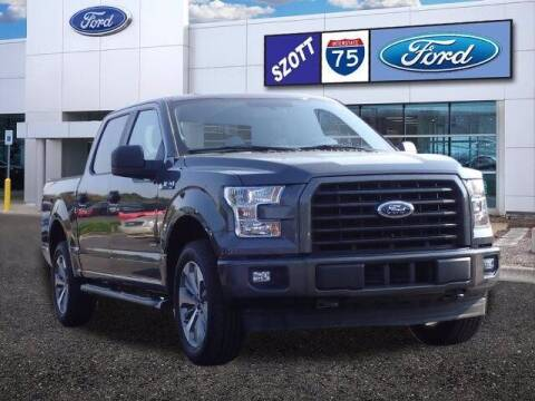 2017 Ford F-150 for sale at Szott Ford in Holly MI
