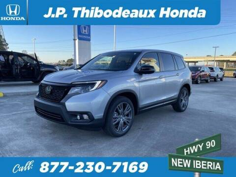 2021 Honda Passport for sale at J P Thibodeaux Used Cars in New Iberia LA