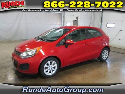 2013 Kia Rio 5-Door for sale at Runde Chevrolet in East Dubuque IL