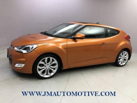 2013 Hyundai Veloster for sale at J & M Automotive in Naugatuck CT