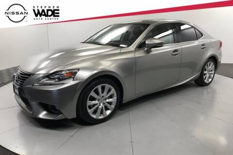2015 Lexus IS 250 for sale at Stephen Wade Pre-Owned Supercenter in Saint George UT