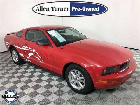 2007 Ford Mustang for sale at Allen Turner Hyundai in Pensacola FL