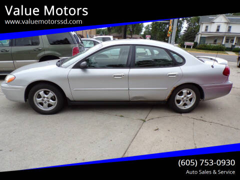 2007 Ford Taurus for sale at Value Motors in Watertown SD