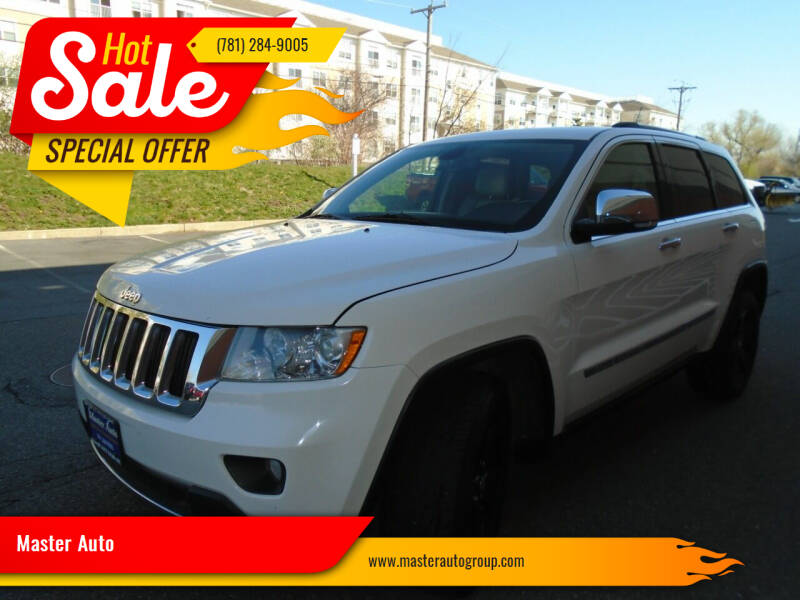 2011 Jeep Grand Cherokee for sale at Master Auto in Revere MA