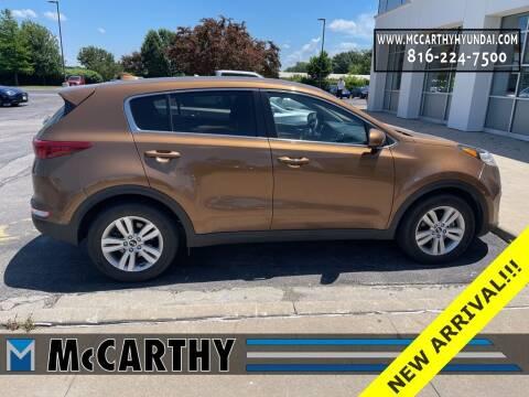 2017 Kia Sportage for sale at Mr. KC Cars - McCarthy Hyundai in Blue Springs MO