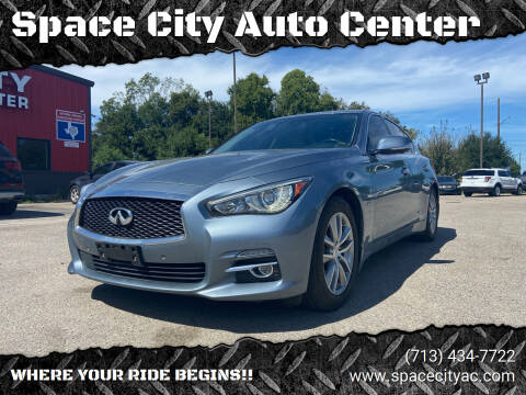 2016 Infiniti Q50 for sale at Space City Auto Center in Houston TX