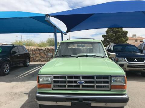 1989 Ford Bronco II for sale at Autos Montes in Socorro TX