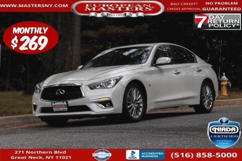 2018 Infiniti Q50 for sale at European Masters in Great Neck NY