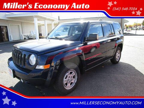 2014 Jeep Patriot for sale at Miller's Economy Auto in Redmond OR