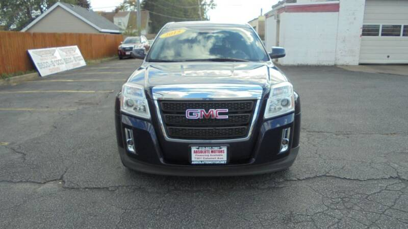 2015 GMC Terrain for sale at Absolute Motors in Hammond IN