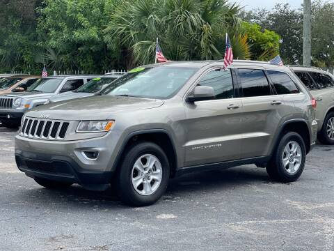 2016 Jeep Grand Cherokee for sale at Bargain Auto Sales in West Palm Beach FL