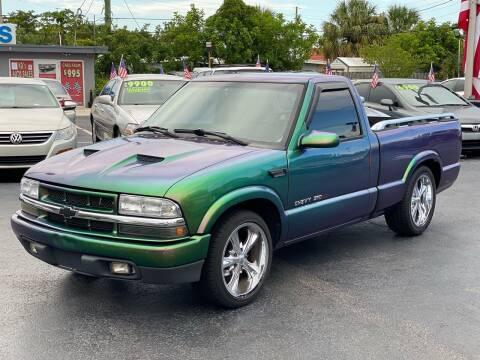 1998 Chevrolet S-10 for sale at KD's Auto Sales in Pompano Beach FL