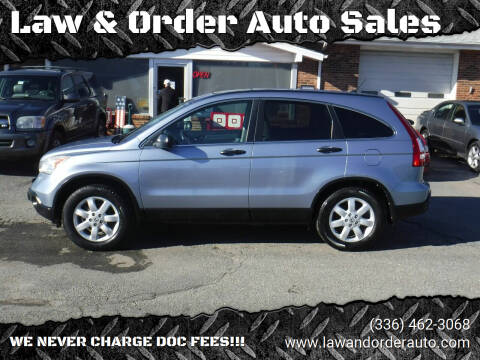 2008 Honda CR-V for sale at Law & Order Auto Sales in Pilot Mountain NC