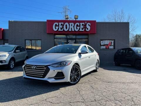 2018 Hyundai Elantra for sale at George's Used Cars - Telegraph in Brownstown MI