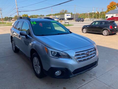 2016 Subaru Outback for sale at Auto Import Specialist LLC in South Bend IN