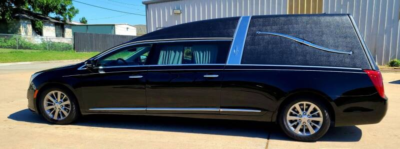 2013 Cadillac XTS Pro for sale at FRANSISCO & MONROE FUNERAL CAR SALES LLC in Tulsa OK