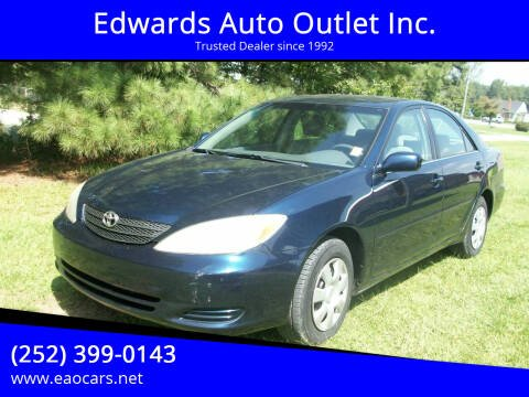 2004 Toyota Camry for sale at Edwards Auto Outlet Inc. in Wilson NC