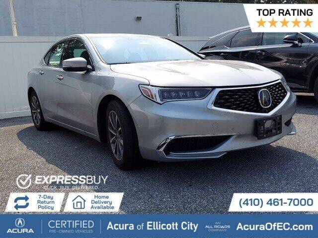2019 Acura TLX for sale in Ellicott City, MD