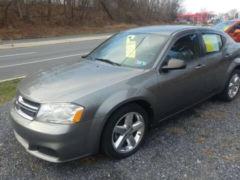 2013 Dodge Avenger for sale at Smart Choice 61 Trailers in Shoemakersville PA