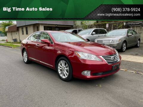 2011 Lexus ES 350 for sale at Big Time Auto Sales in Vauxhall NJ