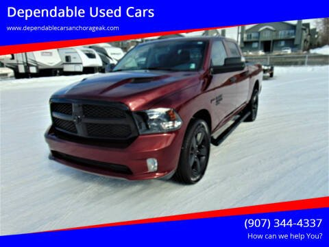 2019 RAM Ram Pickup 1500 Classic for sale at Dependable Used Cars in Anchorage AK