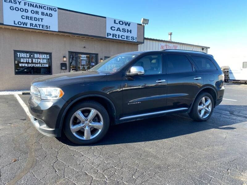 2011 Dodge Durango for sale at Used Car Factory Sales & Service Troy in Troy OH