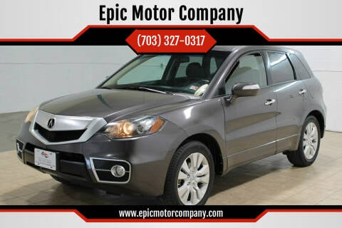 2010 Acura RDX for sale at Epic Motor Company in Chantilly VA