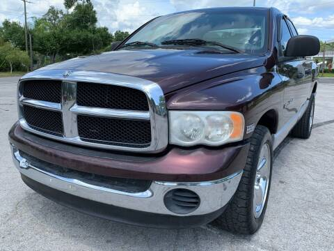 2004 Dodge Ram Pickup 1500 for sale at LUXURY AUTO MALL in Tampa FL
