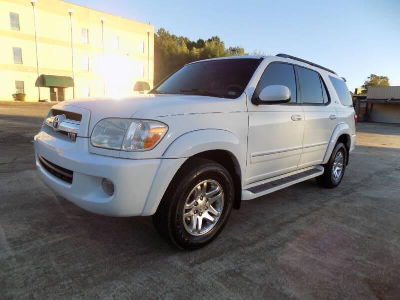 2005 Toyota Sequoia for sale at S.S. Motors LLC in Dallas GA