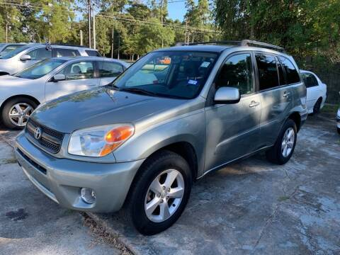 2004 Toyota RAV4 for sale at AUTO WOODLANDS in Magnolia TX