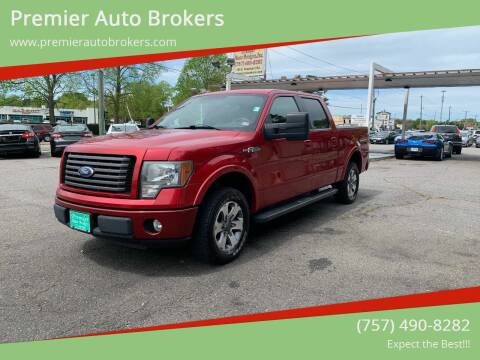 2010 Ford F-150 for sale at Premier Auto Brokers in Virginia Beach VA