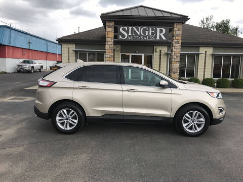 2018 Ford Edge for sale at Singer Auto Sales in Caldwell OH