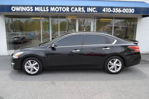 2013 Nissan Altima for sale at Owings Mills Motor Cars in Owings Mills MD