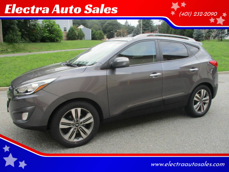 2014 Hyundai Tucson for sale at Electra Auto Sales in Johnston RI