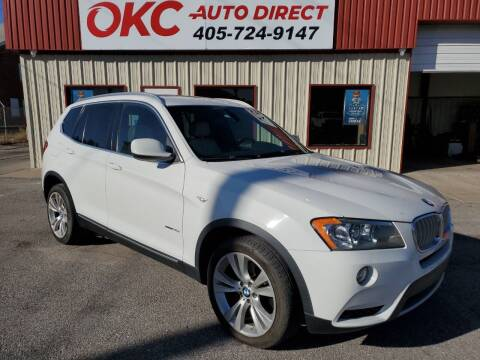 2012 BMW X3 for sale at OKC Auto Direct in Oklahoma City OK