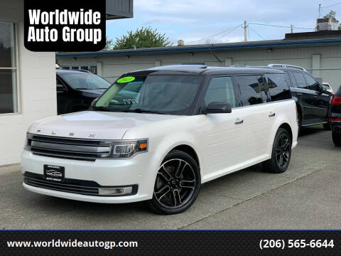 2013 Ford Flex for sale at Worldwide Auto Group in Auburn WA