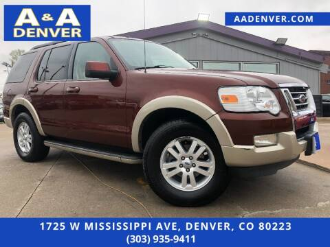 2010 Ford Explorer for sale at A & A AUTO LLC in Denver CO