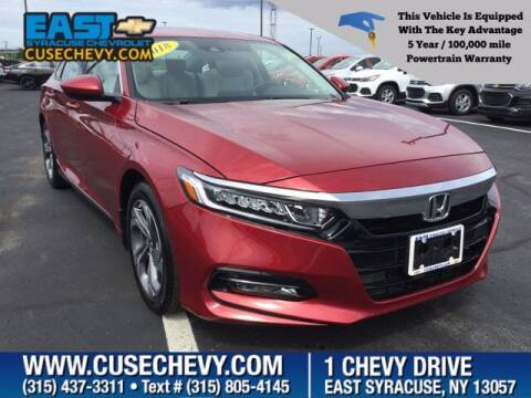2018 Honda Accord for sale at East Syracuse Performance Sales & Service in Syracuse NY