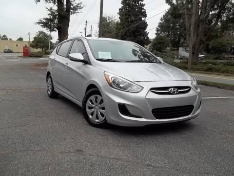 2015 Hyundai Accent for sale at CORTEZ AUTO SALES INC in Marietta GA