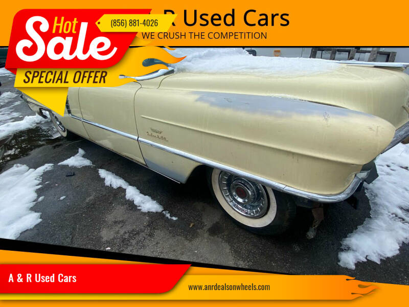 1956 Cadillac DeVille for sale at A & R Used Cars in Clayton NJ
