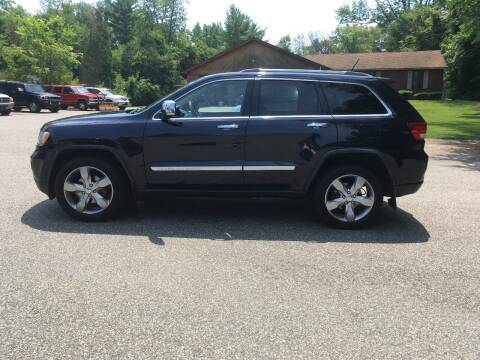 2011 Jeep Grand Cherokee for sale at Lou Rivers Used Cars in Palmer MA