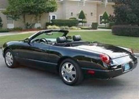 2004 Ford Thunderbird for sale at Classic Car Deals in Cadillac MI